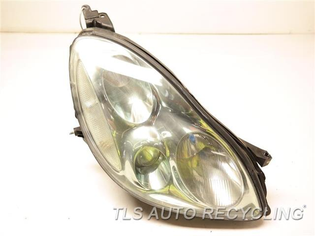 2002 Lexus Sc 430 Headlamp Assembly HAS HEAT STRESS CRACKS PASSENGER HEAD LAMP NIQ