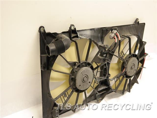 2002 Lexus Sc 430 Rad Cond Fan Assy  RADIATOR FAN ASSEMBLY 16711-50160