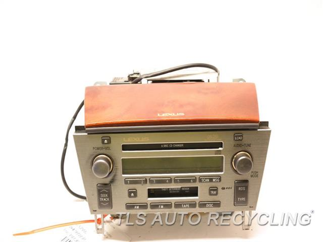 2002 Lexus Sc 430 Radio Audio / Amp BOTTOM PLSTIC TABS ARE DAMAGED RADIO RECEIVER 86120-24390