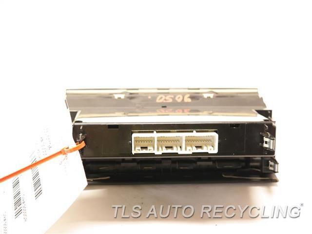 2002 Lexus Sc 430 Temp Control Unit  BLK,W/O ELECTRO MULTI-VISION
