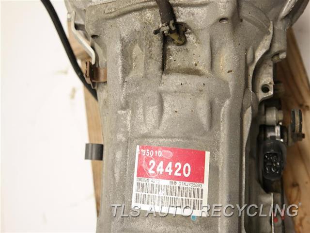 2002 Lexus Sc 430 Transmission  AUTOMATIC TRANSMISSION 1 YR WARRANTY
