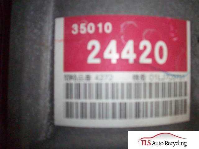 2002 Lexus SC 430 transmission - 565035010-24420 - Used - A