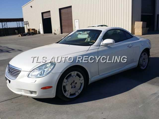 Parting Out 2003 Lexus Sc 430 Stock 4085bl Tls Auto Recycling