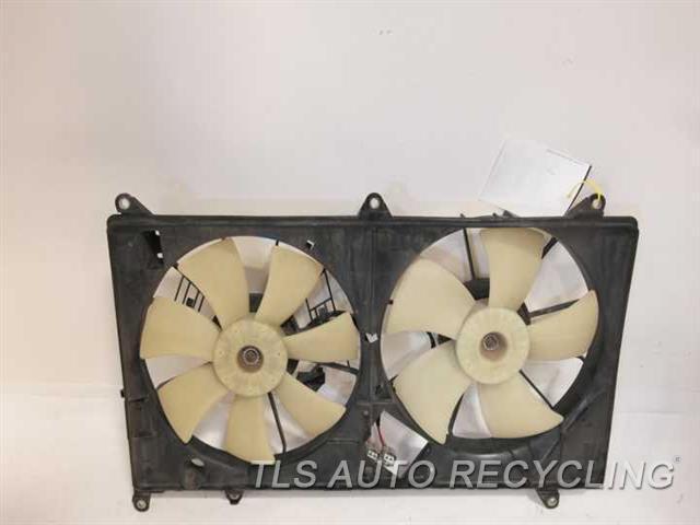 2003 Lexus SC 430 rad cond fan assy - 16711-50160 16363-50060 16363