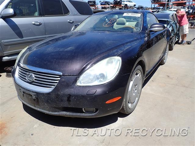 parting out 2005 lexus sc 430 stock 7307pr tls auto. Black Bedroom Furniture Sets. Home Design Ideas