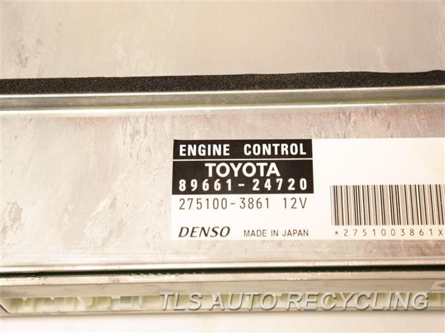 2006 Lexus Sc 430 Eng/motor Cont Mod  89661-24720 ENGINE CONTROL ECU UNIT