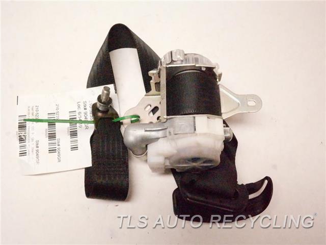 2006 Lexus Sc 430 Seat Belt Front  BLK,(BUCKET), PASSENGER, RETRACTOR