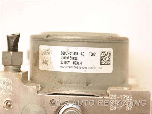 2014 Ford Mkz Abs Pump EG9C-2C405-AC ABS,ASSEMBLY, 3.7L EG9C-2C219-AA