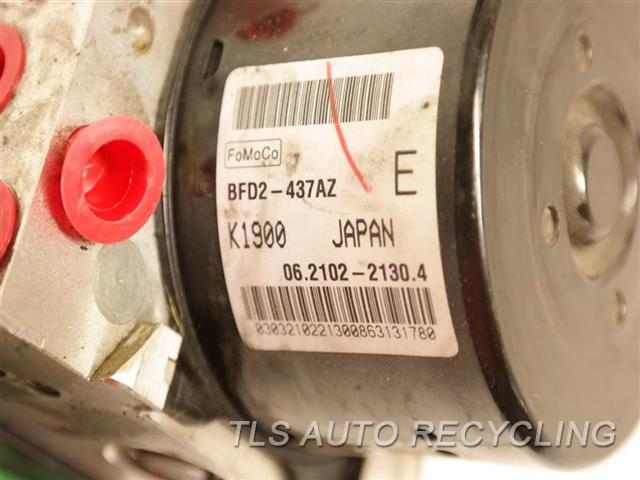2013 Mazda Mazda 3 Abs Pump BFD2-437AZ (DYNAMIC STABILITY CONTROL)