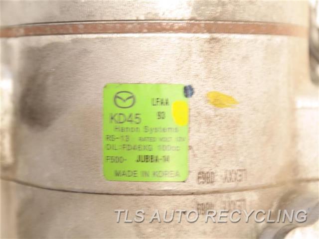2016 Mazda Mazda 3 Ac Compressor  AC COMPRESSOR