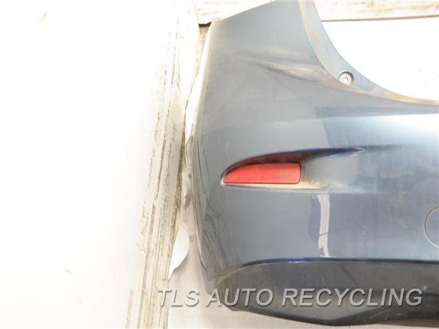 2016 Mazda Mazda 3 Bumper Cover Rear    000,GRAY REAR BUMPER