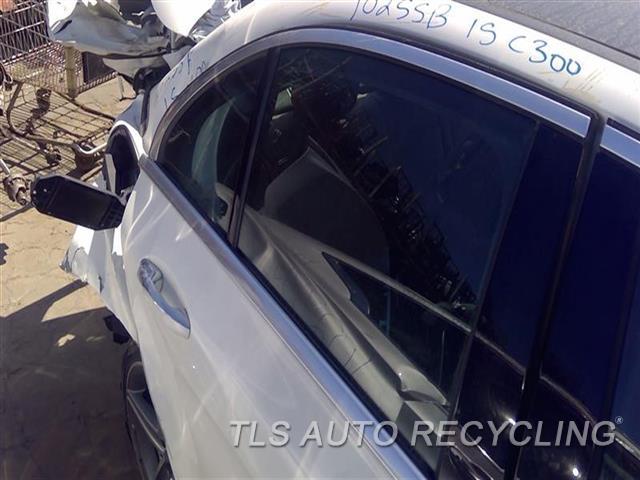 2015 Mercedes C300 Door Glass, Rear  RH,205 TYPE, C300 (SDN), R.