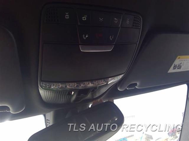 2015 Mercedes C300 Over Head Console  BLK,OVER HEAD CONSOLE SUN ROOF