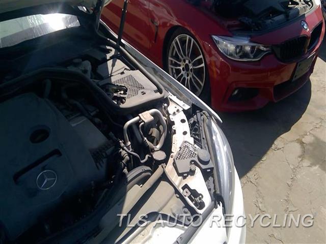 2015 Mercedes C300 Radiator Core Supp  LH APRON