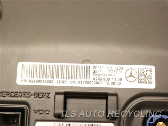 2014 Mercedes CLA250 navigation gps screen - 2469007603 - Used - A