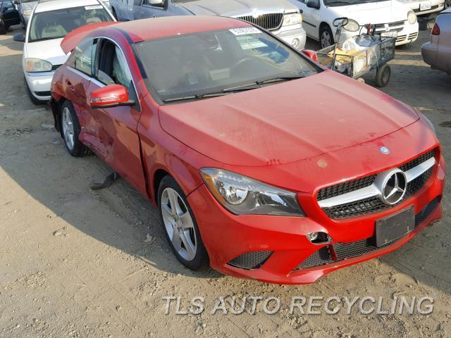 2016 Mercedes CLA250 Parts Stock# 9461GY
