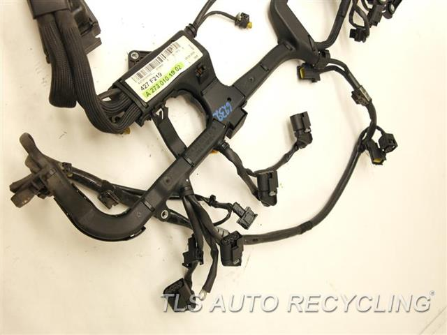 2007 mercedes cls550 engine wire harness 2730101902 used a grade
