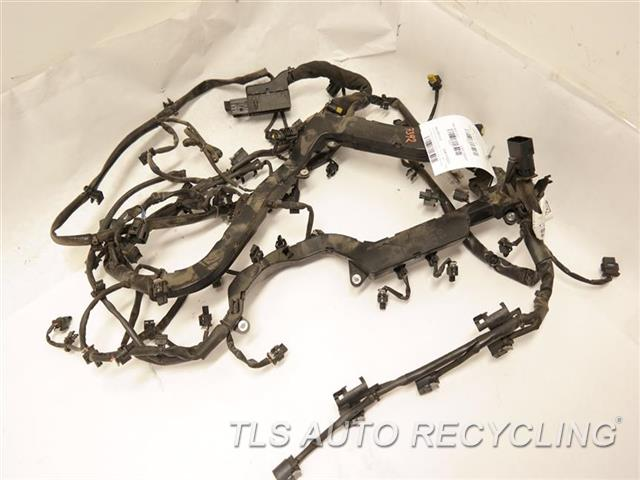 2012 mercedes cls63 engine wire harness 2125842381 used Benz C32 Engine Wiring Harness