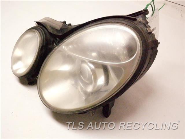 2005 Mercedes E320 Headlamp Assembly NEED BUFF LH. HALOGEN HEADLAMP