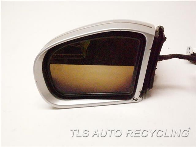 2005 Mercedes E320 Side View Mirror TURN SIGNAL LAMP HAS CRACK, MINOR SCRATCHES LH,BLK,PM,211 TYPE, POWER, E320, L.