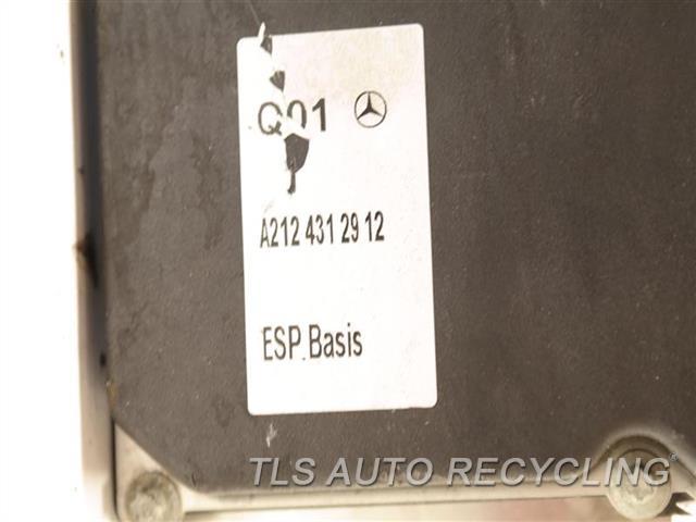 2010 Mercedes E350 Abs Pump 2124312912 ANIT-LOCK BRAKE ABS PUMP