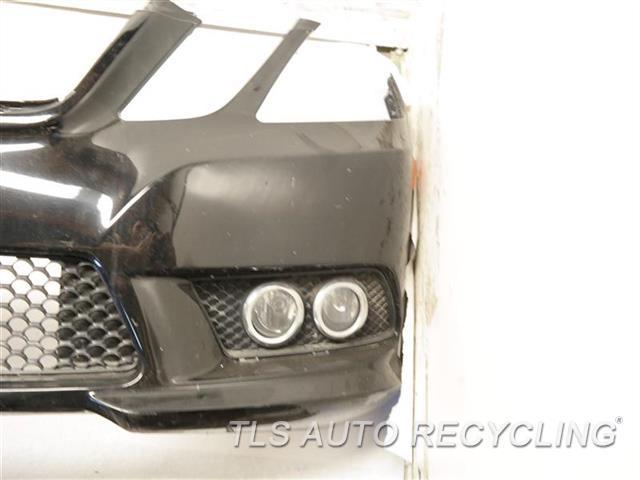 2010 Mercedes E350 Bumper Cover Front SCRATCHES, SCUFFS ON BOTTOM 6S2,BLK, BUMPER W/ FOG LAMP