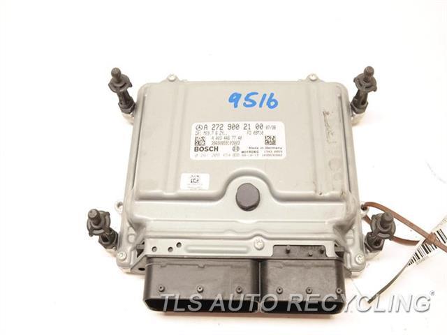 2010 Mercedes E350 Eng/motor Cont Mod  2729002100 ENGINE CONTROL COMPUTER