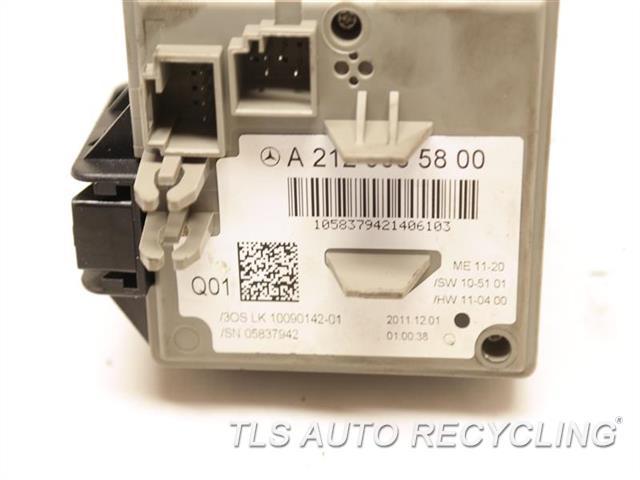 2012 Mercedes E350 Ignition Switch  W/KEY,212 TYPE, SDN, E350