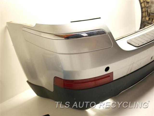 2007 Mercedes Gl450 Bumper Cover Rear Passenger Side Has