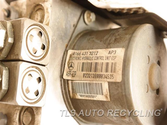 2015 Mercedes Gl550 Abs Pump 1664313212 166 TYPE, GL550, ADAPTIVE CRUISE