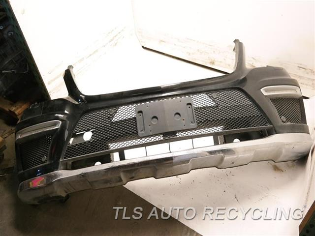 2015 Mercedes Gl550 Bumper Cover Front CRACK ON THE LOWER SECTION, SCRATCHES, W/ PARKING SENSOR, W/DAYTIME LIGHTS 1S1,4J1,BLK,166 TYPE, GL550,CAMERA