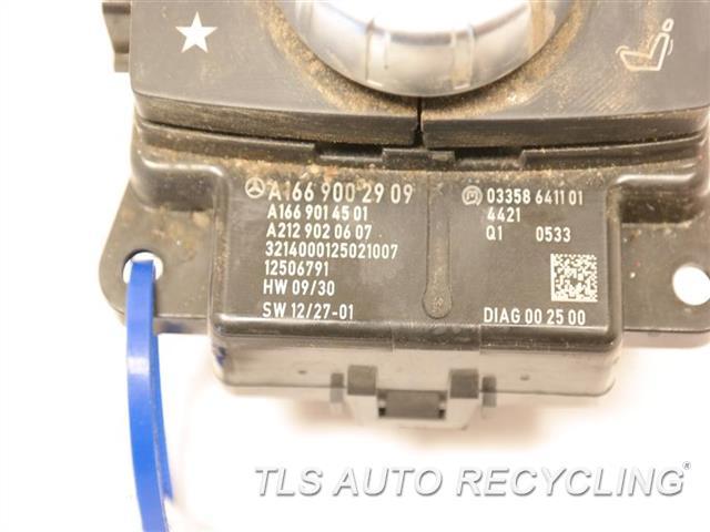 2015 Mercedes Gl550 Radio Audio / Amp 1669002909 166 TYPE, GL550, CONTROL CONSOLE