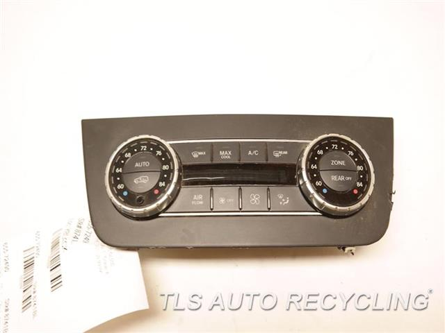 2015 Mercedes Gl550 Temp Control Unit 1669006709 BLK,166 TYPE, GL550, FRONT, US MARK
