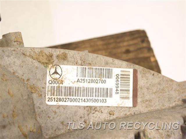 2015 Mercedes Gl550 Transfer Case Assy W/O OFF ROAD PACKAGE TRANSFER CASE 2512802700