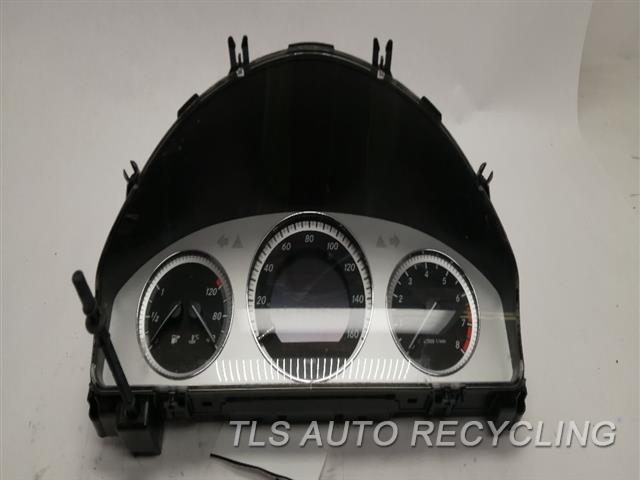 2011 Mercedes Glk350 Speedo Head/cluster 2049001605 SPEEDOMETER (GLK350), MPH