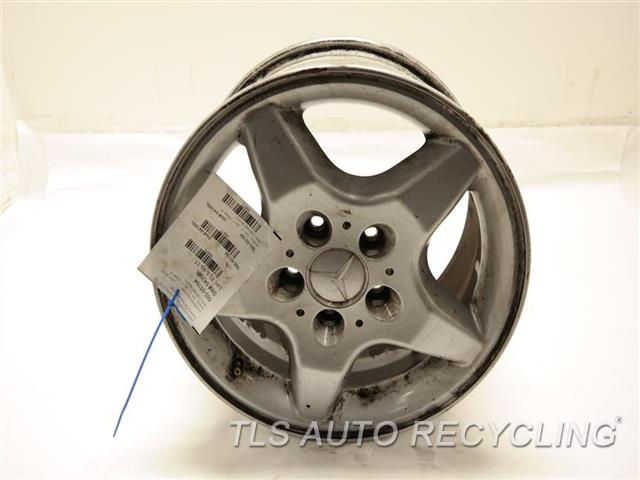 2001 mercedes ml320 wheel has curb rash16x8 5 spoke wheel for Mercedes benz 2001 ml320 parts