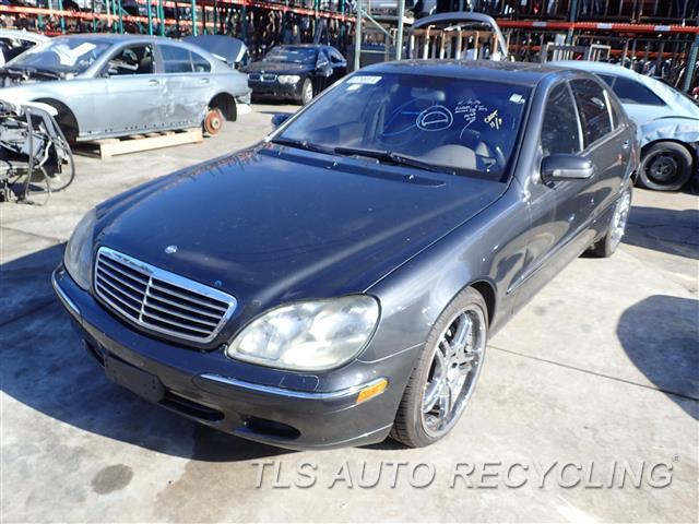 Parting out 2002 mercedes s430 stock 6460gr tls auto for 2002 mercedes benz s430 parts