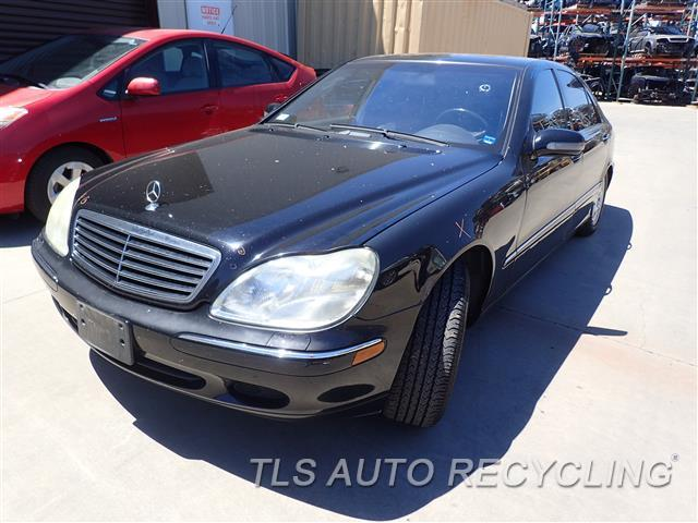 Parting out 2002 mercedes s430 stock 7261bk tls auto for 2002 mercedes benz s430 parts