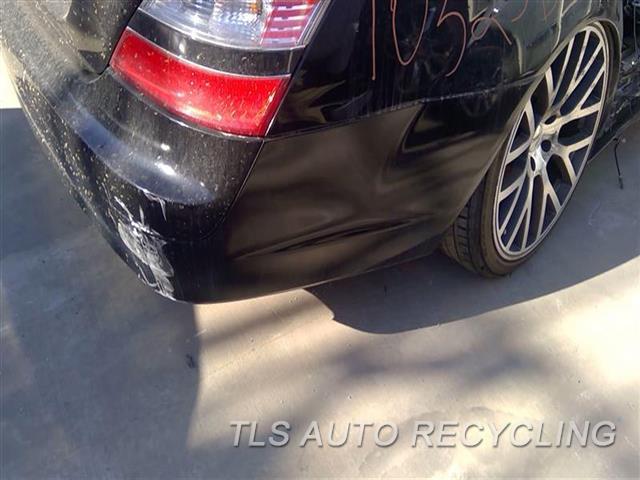 2007 Mercedes S550 Bumper Cover Rear    5T3,BLK,221 TYPE, S550, PARK ASSIST