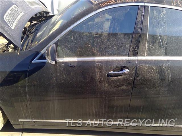 2007 Mercedes S550 Door Assembly, Front LOOKS WORKED ON MIDDLE UPPER SECTION 5T1,LH,BLK,221 TYPE, S550, L.