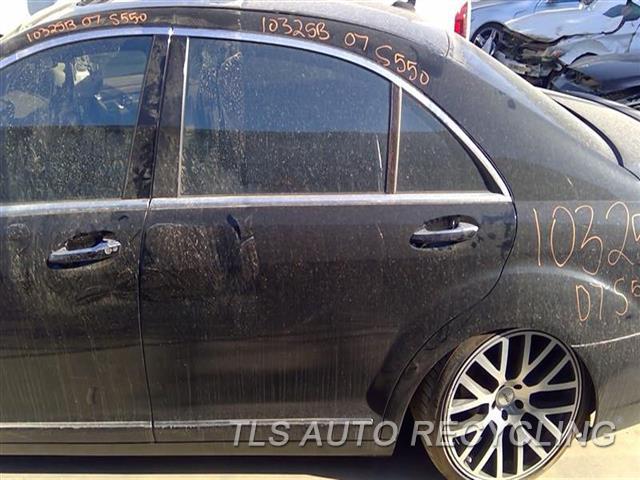 2007 Mercedes S550 Door Assembly, Rear Side  000,LH,BLK,221 TYPE, S550, L.