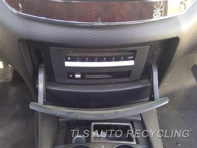 2007 Mercedes S550 Radio Audio / Amp  221 TYPE, S550, CD-DVD PLAYER