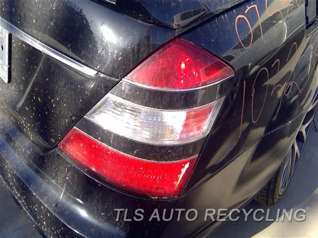 2007 Mercedes S550 Tail Lamp  RH,221 TYPE, S550, R. BLACK