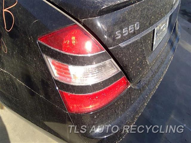 2007 Mercedes S550 Tail Lamp  LH,221 TYPE, S550, L. BLK