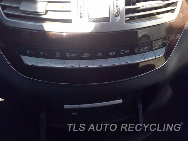 2007 Mercedes S550 Temp Control Unit  BLK,221 TYPE, FRONT, S550,CHECK ID