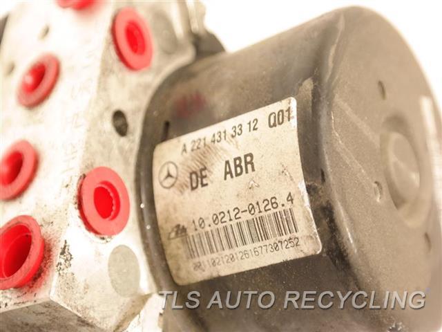2008 Mercedes S550 Abs Pump  221 TYPE, S550, RWD, THRU 8/31/07