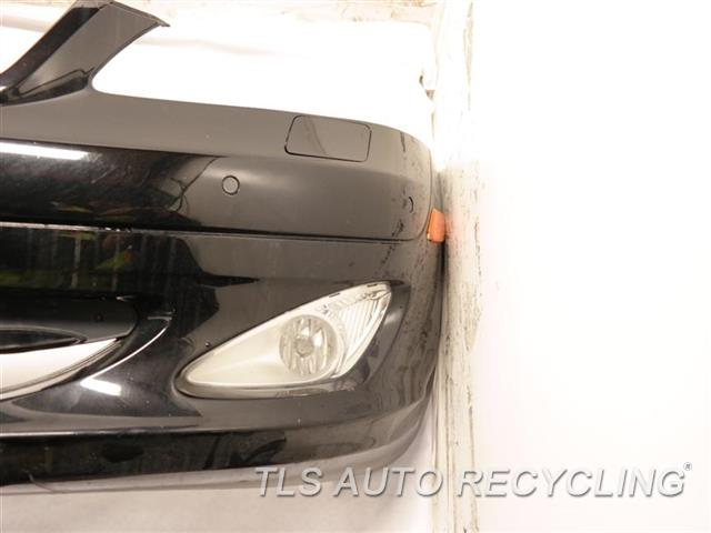 2008 Mercedes S550 Bumper Cover Front HAS DEEP SCUFFS ON THE LOWER SECTION, W/ PARKING SENSOR, W/ FOG LAMP BLACK FRONT BUMPER, 221 TYPE, S550
