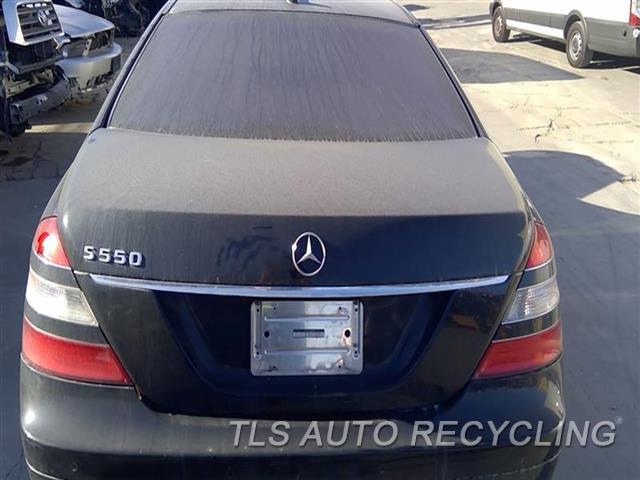 2008 Mercedes S550 Deck Lid  000,BLK,221 TYPE, S550
