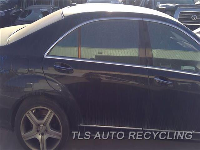 2008 Mercedes S550 Door Assembly, Rear Side  000,RH,BLK,221 TYPE, S550, R.