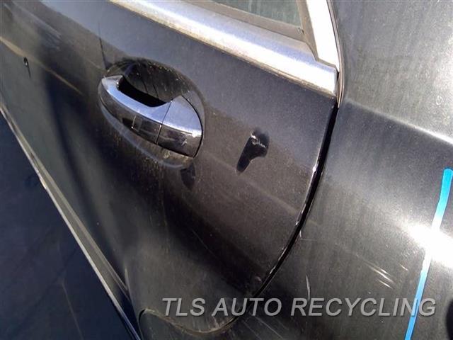 2008 Mercedes S550 Door Assembly, Rear Side MINOR SCRATCHES DENT NEAR DOOR HANDLE 8D1,5S1,LH,BLK